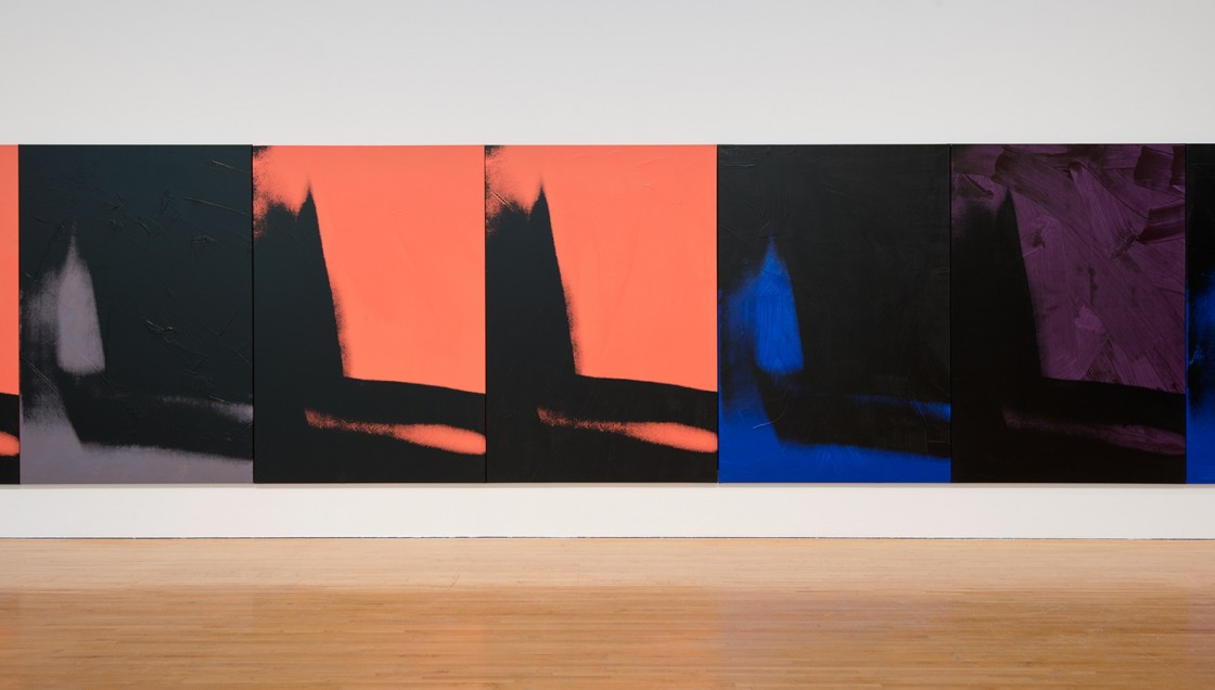 Andy Warhol: Shadows Installation View 04