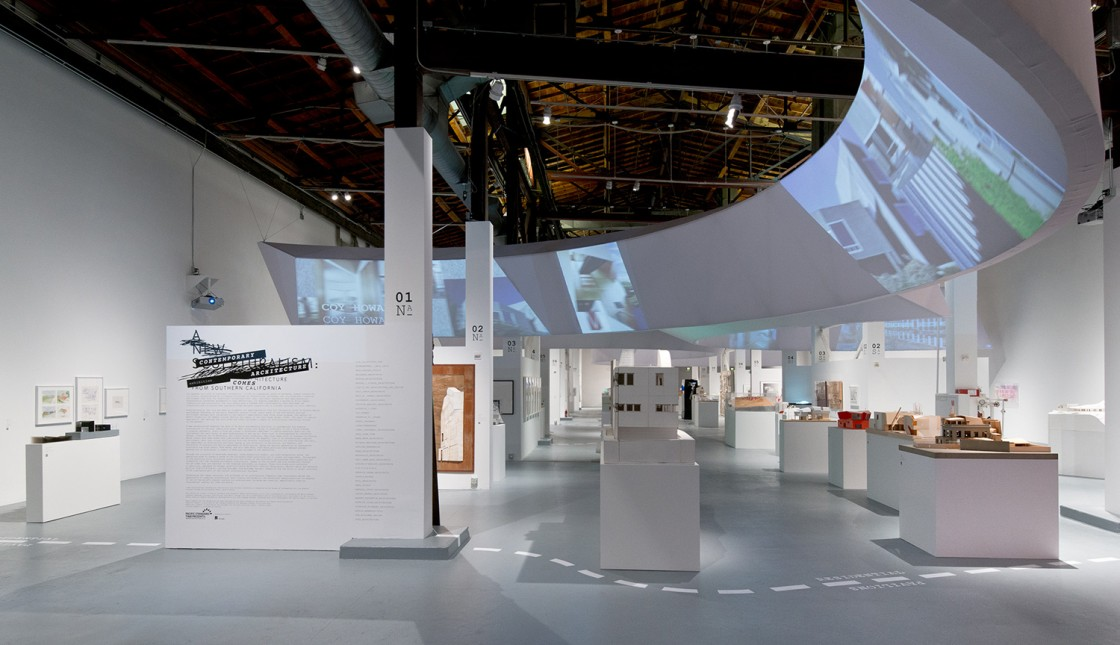 A New Sculpturalism: Contemporary Architecture from Southern California Installation View 01