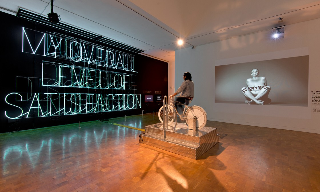 Stefan Sagmeister: The Happy Show Installation View 01