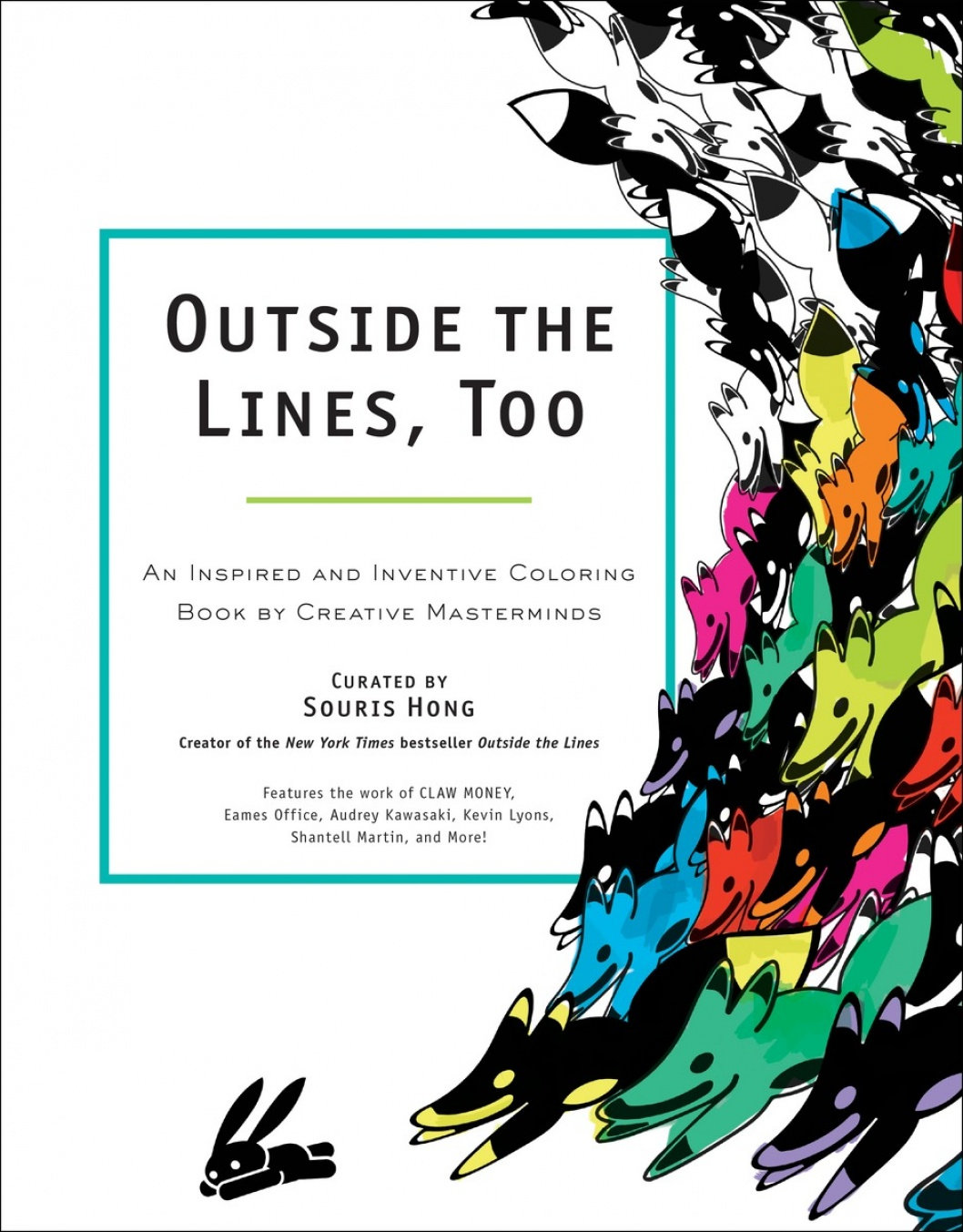 Book Launch: Outside the Lines, Too: An Inspired and Inventive Coloring Book by Creative Masterminds Image