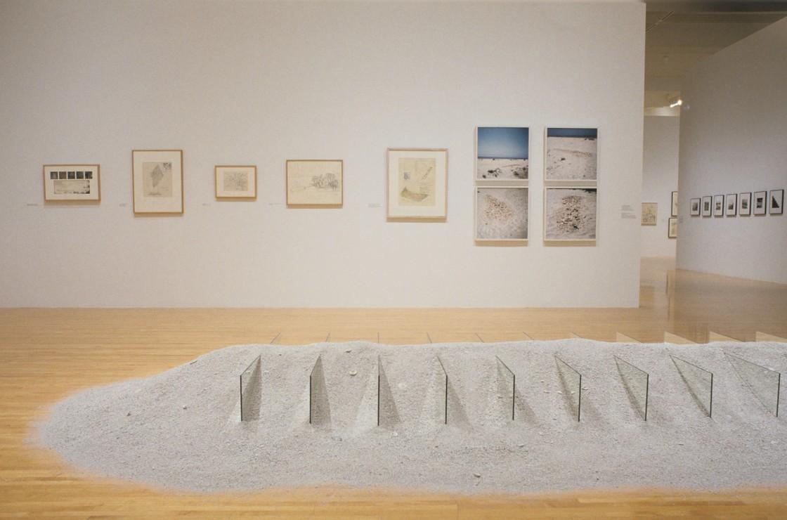 Robert Smithson Installation View 01