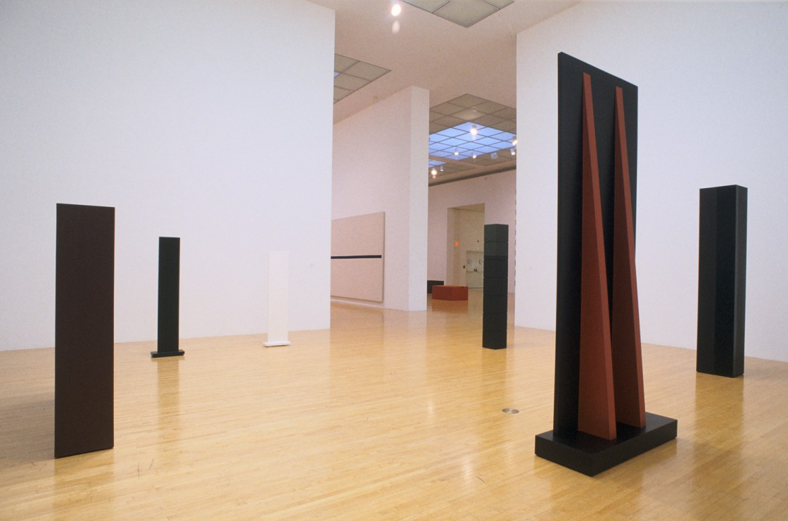 A Minimal Future? Art as Object 1958–1968 Installation View 01