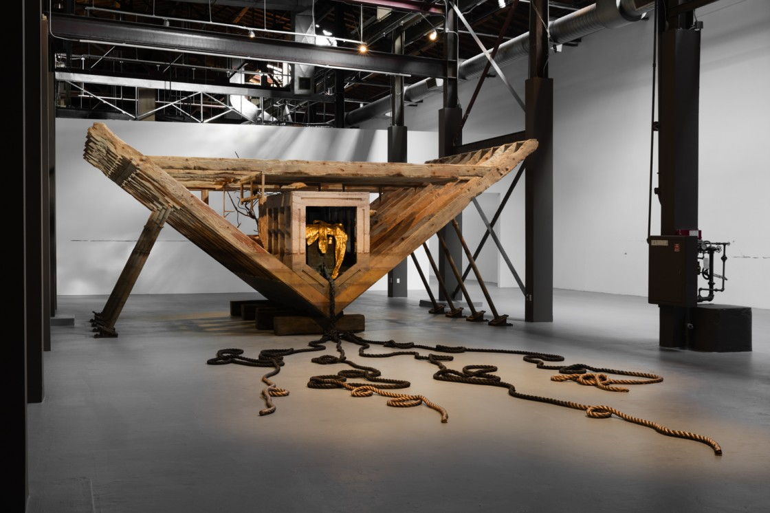 Matthew Barney: RIVER OF FUNDAMENT Installation View 01