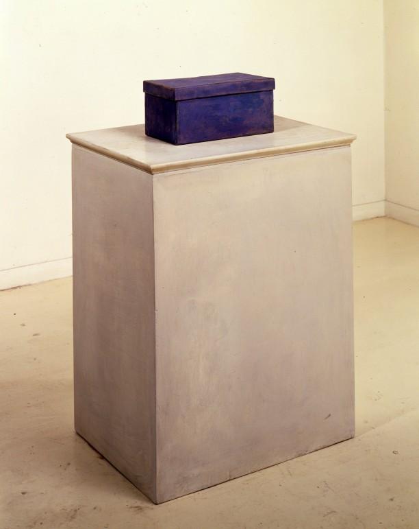 Untitled (Shoebox and Pedestal)
