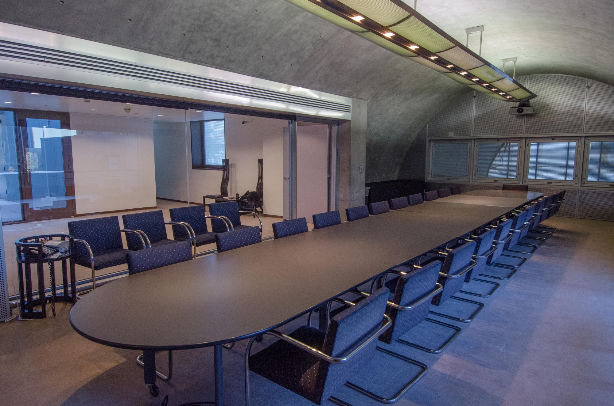 The David Laventhol Board Room, photo by Gene Ogami