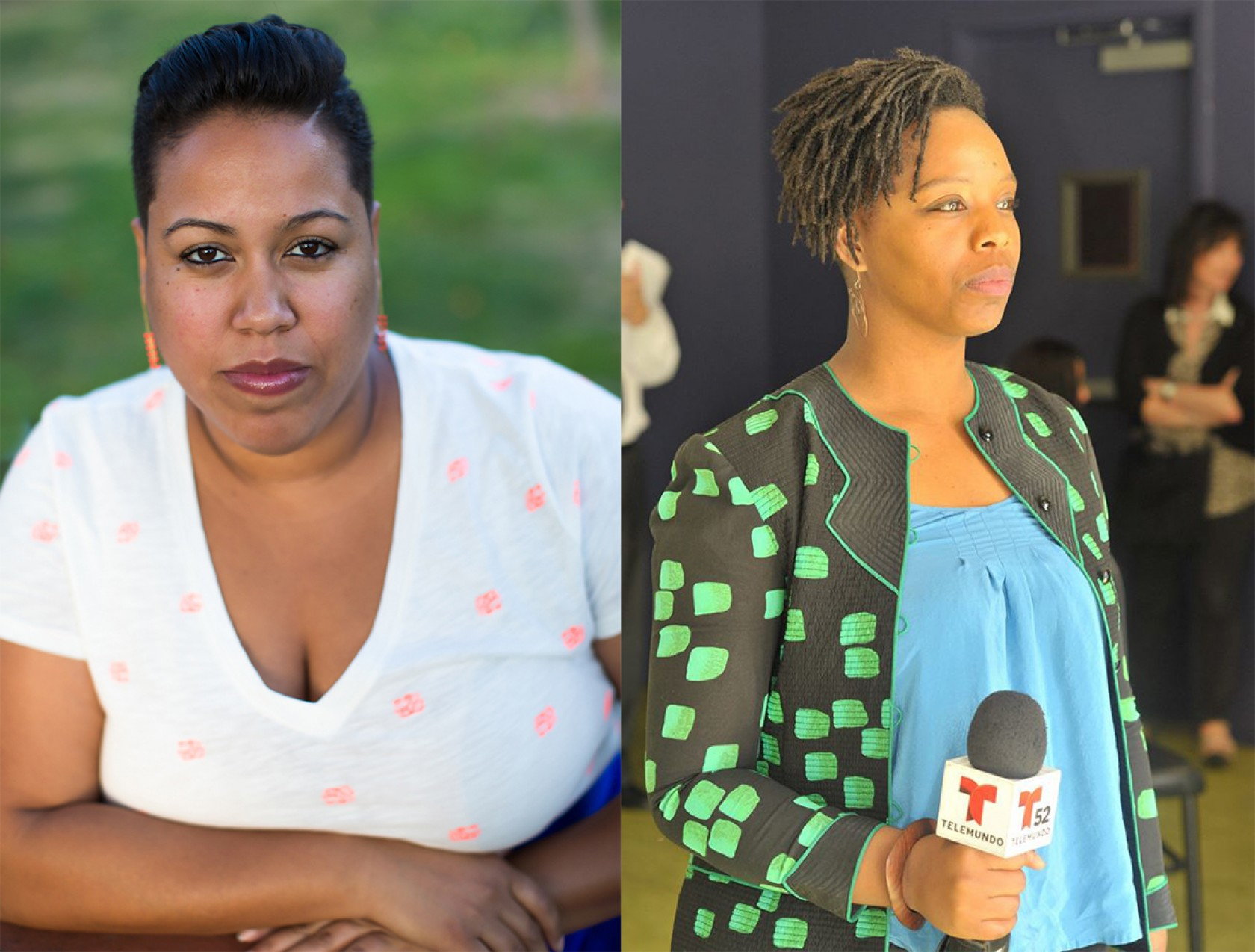 What is Contemporary? Black Lives Matter: Patrisse Cullers and Tanya Lucia Bernard in Conversation Image