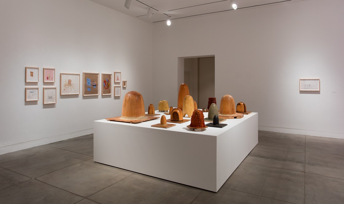 Gaetano Pesce: Molds (Gelati Misti) Installation View 01