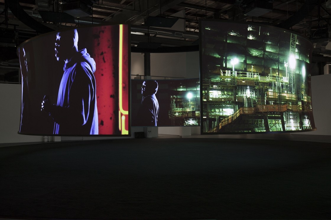 Doug Aitken: Electric Earth Installation View 01