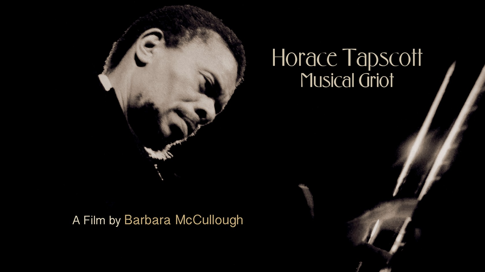  Barbara McCullough, HORACE TAPSCOTT: MUSICAL GRIOT
