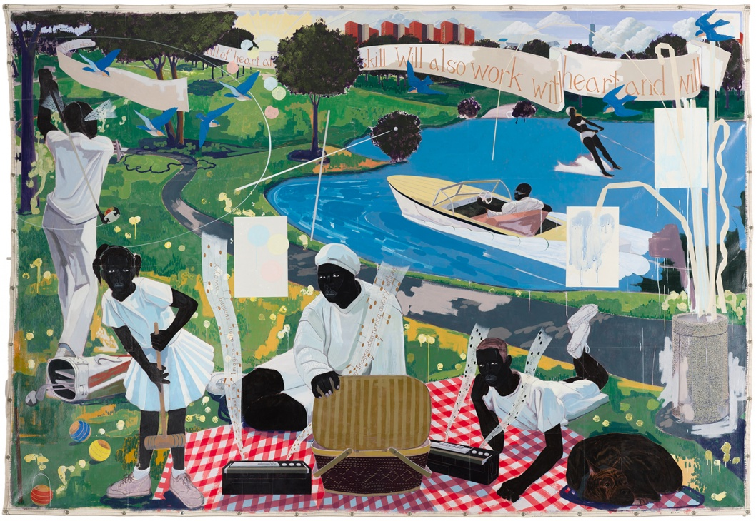 ​Kerry James Marshall, Past Times