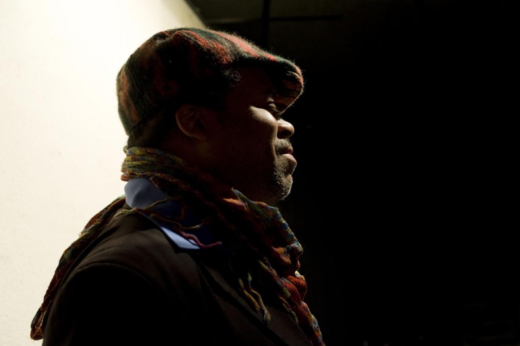 Greg Tate, photo by Petra Richterova