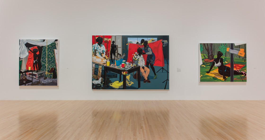 Kerry James Marshall: Mastry Installation View 45
