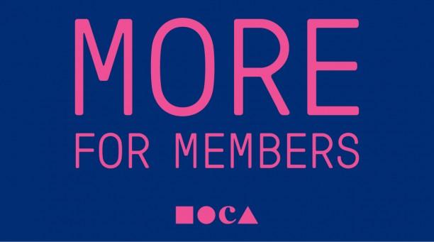 MORE for Members