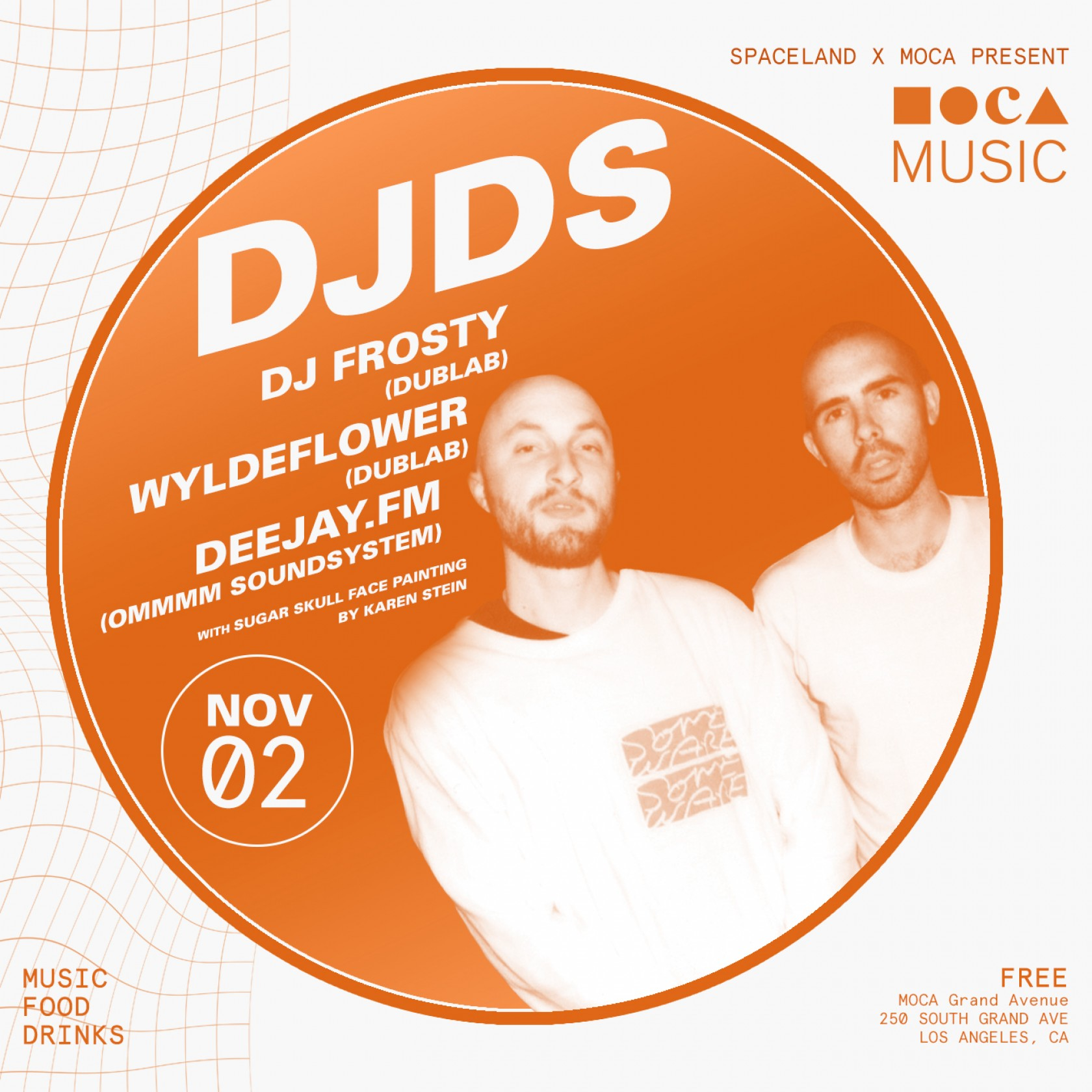 MOCA Music: DJDS, DJ Frosty, WILDFLOWER, and Deejay.fm​