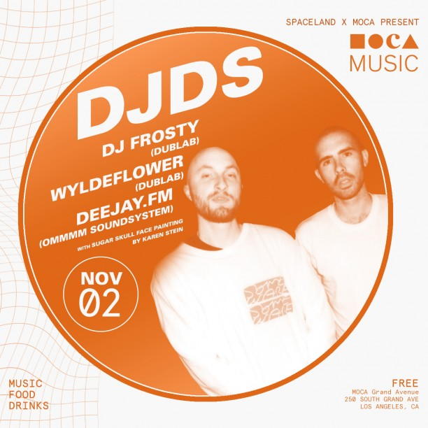 MOCA Music: DJDS, DJ Frosty, WYLDEFLOWER, and Deejay.fm​