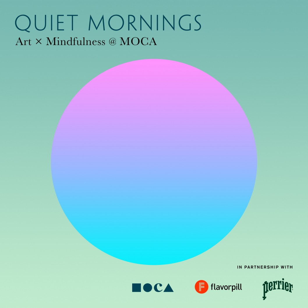 quiet mornings art x mindfulness moca moca
