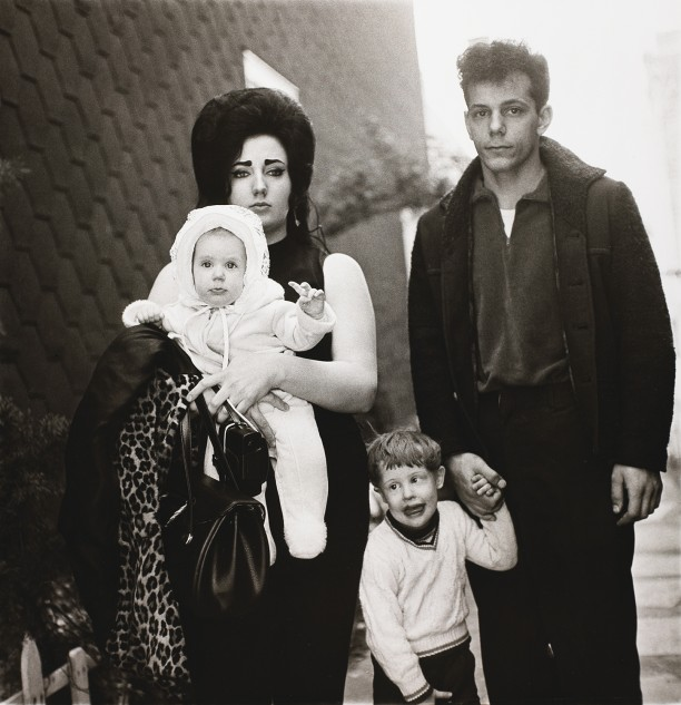 A young Brooklyn family going for a Sunday outing, N.Y.C.