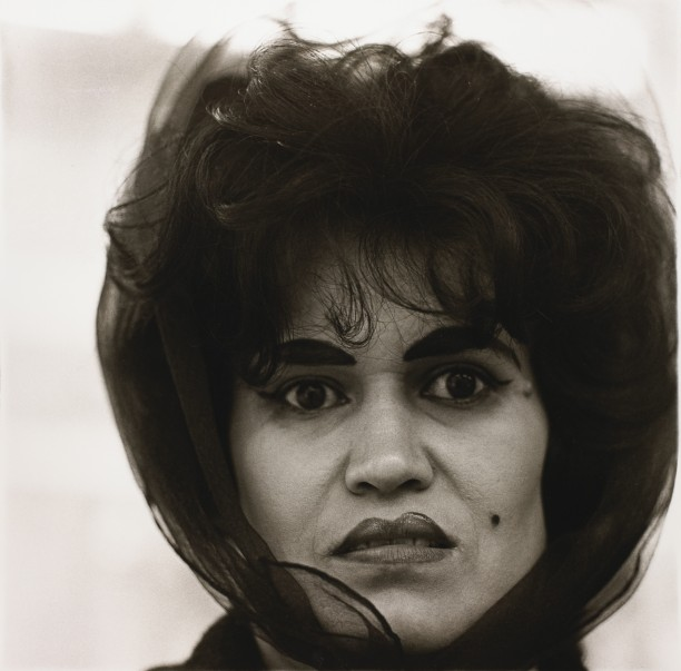 Puerto Rican woman with a beauty mark, N.Y.C.