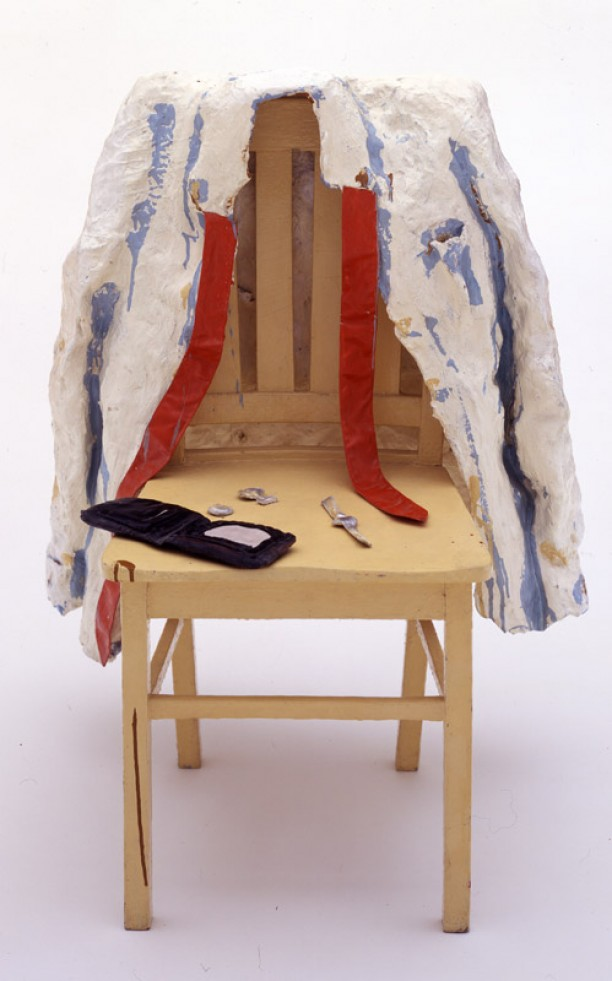 Shirt with Objects on Chair