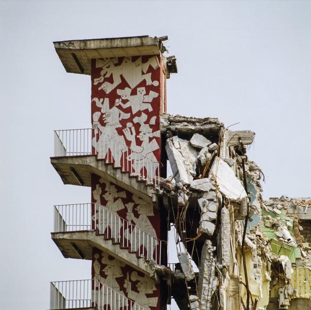 Unidad Habitacional Benitio Juárez después del sismo (Arquitectura Colapsada Series)