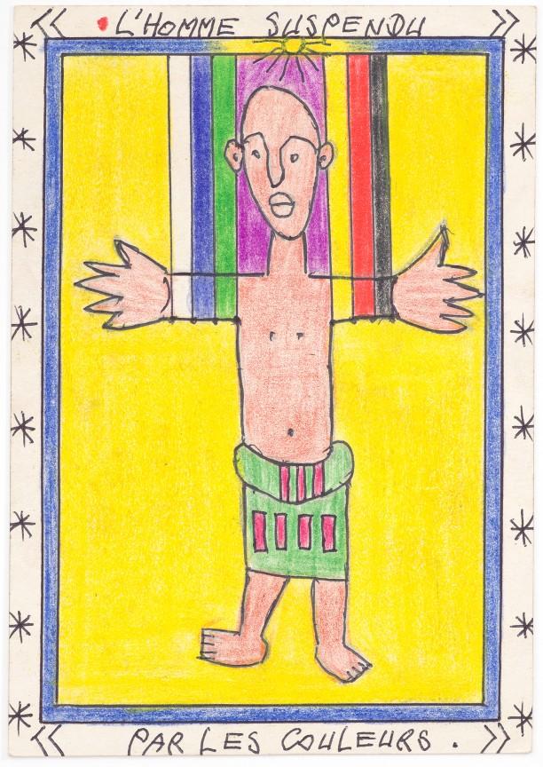 Untitled (L'homme Suspendu- Par Les Couleurs)