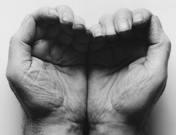 Self-Portrait (Double Hand Front)