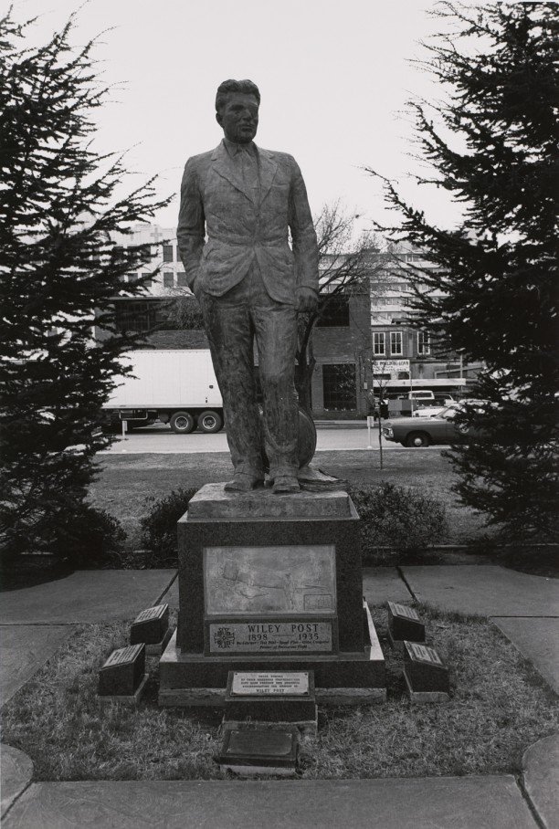 Wiley Post. Oklahoma City, Oklahoma