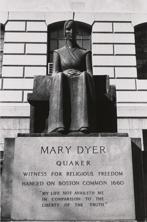 Mary Dyer. Boston, Massachusetts