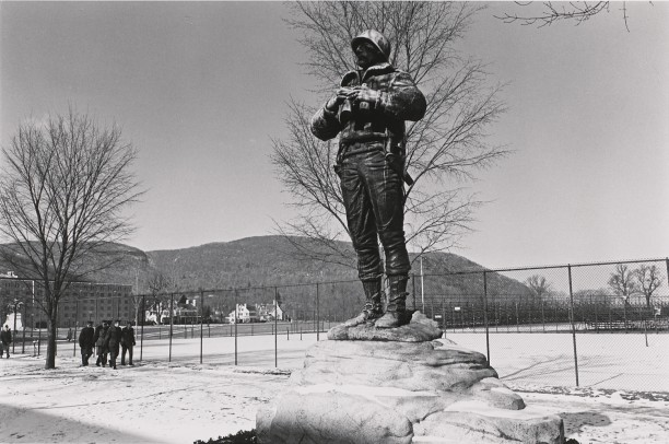 General George Patton. West Point, New York