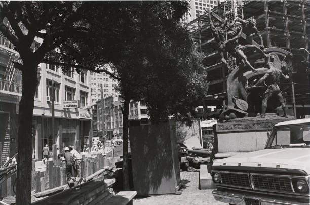 Mechanic's Monument. San Francisco, California
