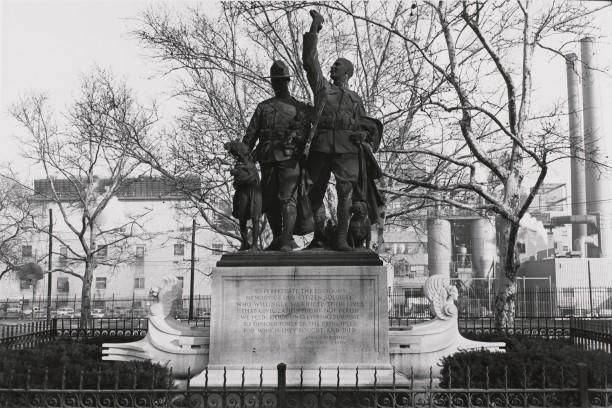 Doughboys. Hoboken, New Jersey