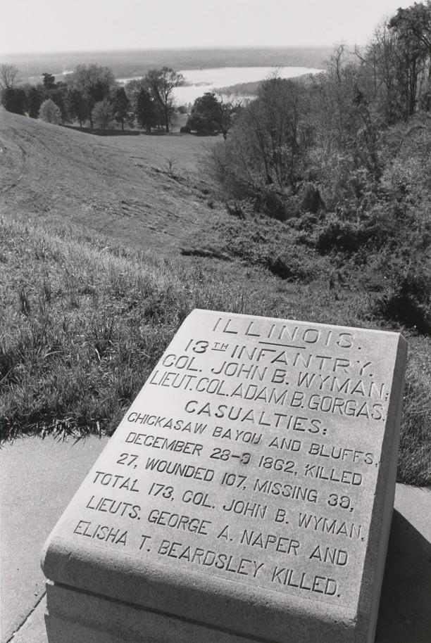 Regimental Position Marker. Vicksburg