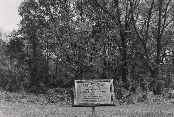 Iowa Camp Marker. Vicksburg National Military Park