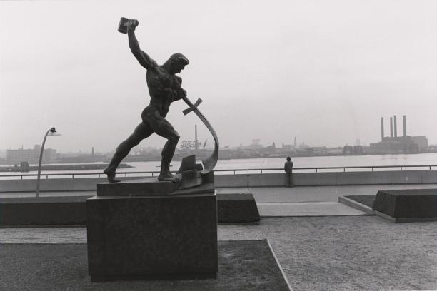 Swords Into Ploughshares. Union Plaza Garden, New York, New York