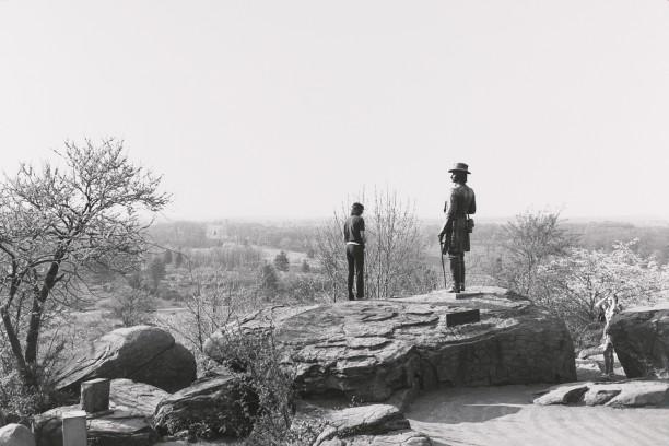 General Gouverneur K. Warren. Gettysburg National Military Park