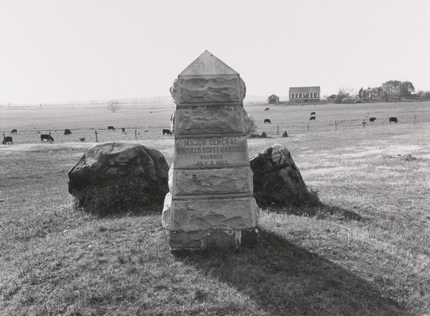 Site of Major General Hancock's Wounding. Gettysburg National Military Park