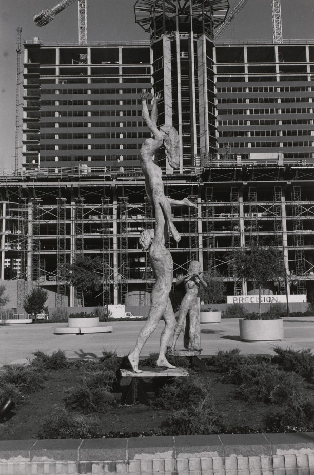 Dancing Figures. Phoenix Civic Plaza, Phoenix, Arizona