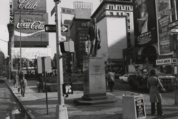 George M. Cohan. Times Square, New York, New York