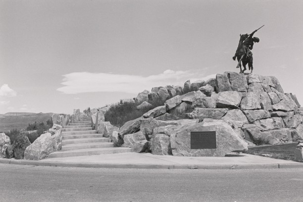 The Scout, Buffalo Bill. Cody, Wyoming