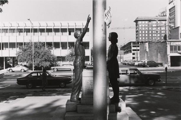 School Children's Monument and Flagpole. Salt Lake City, Utah