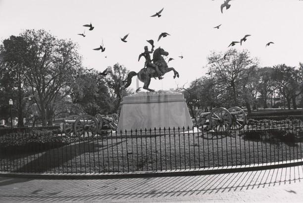 General Andrew Jackson. Lafayette Park, Washington D.C.
