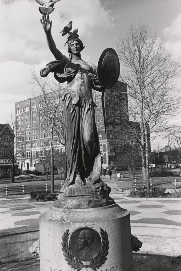 Russel A. Algier Fountain. East Grand Circus Park, Detroit, Michigan