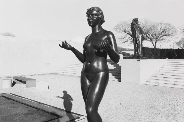 Untitled (Female Sculpture with Hands Out)