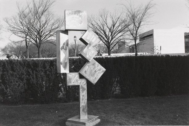 Untitled, Metal Sulpture of Box Configuration