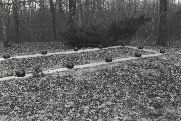 Untitled from Shiloh National Military Park, Tenessee (view from outside rectangle with balls)