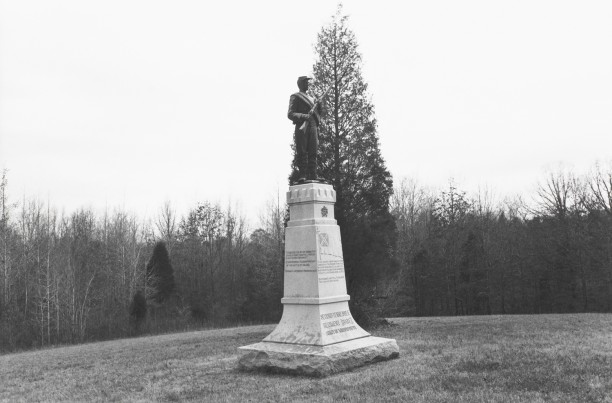 Untitled from Shiloh National Military Park, Tenessee (rebel with a gun)