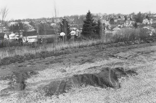 AKRON, OHIO (tire tracks)