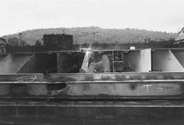 PITTSBURGH, PENNSYLVANIA (welder)