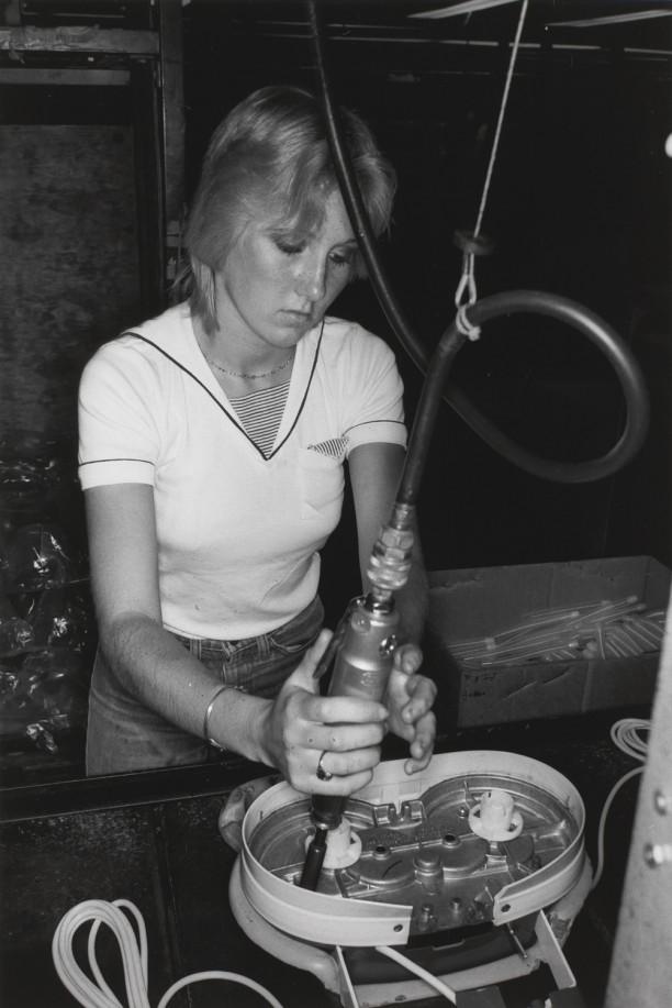 CANTON, OHIO (woman working)