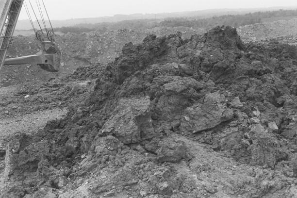 CADIZ, OHIO (mounds of dirt)